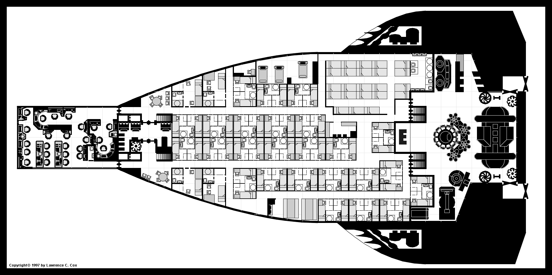 Auroro aglo class support cruiser more detailed view of the middel level baanklon Choice Image