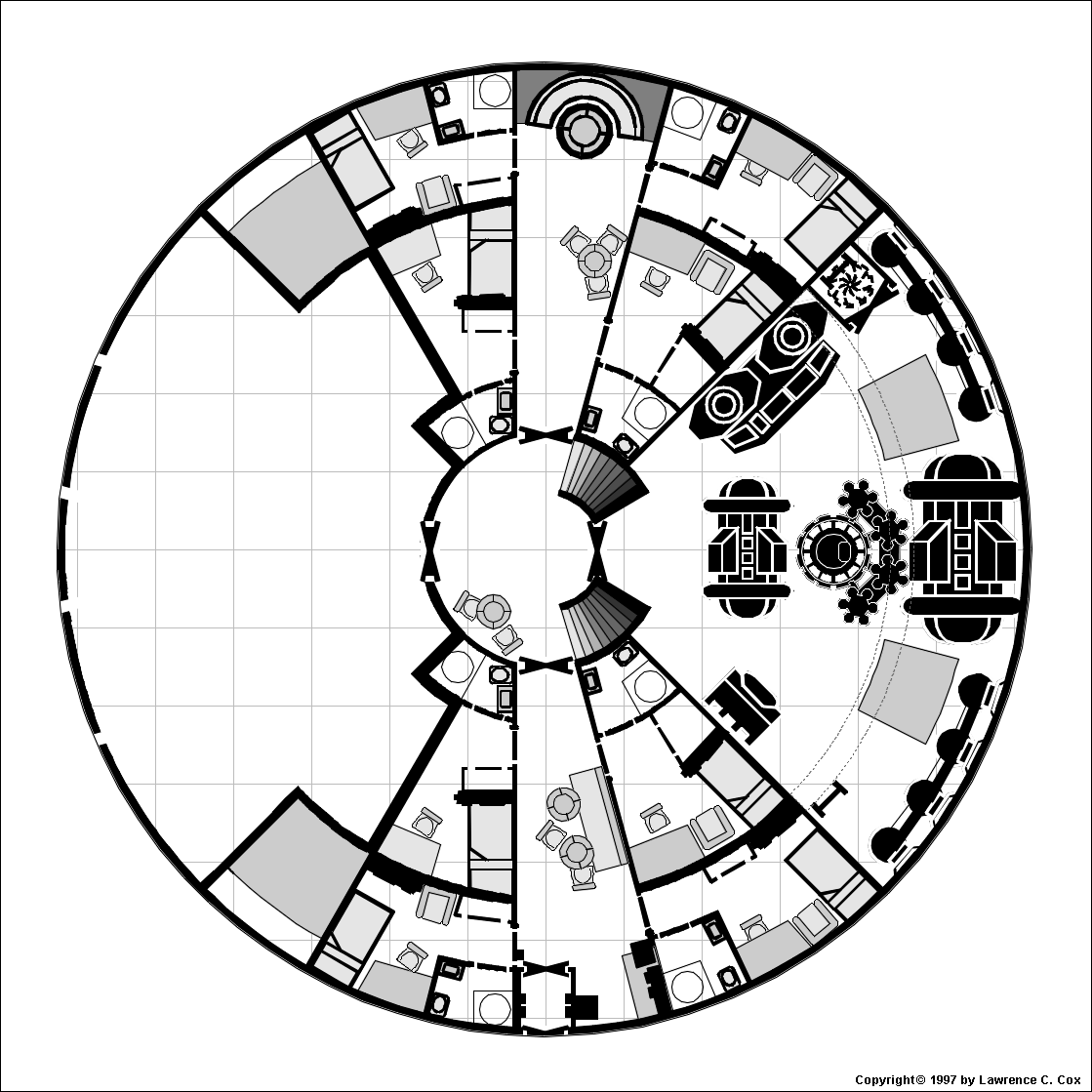 Herstron class surveycontact ship more detailed view of the lower level baanklon Choice Image